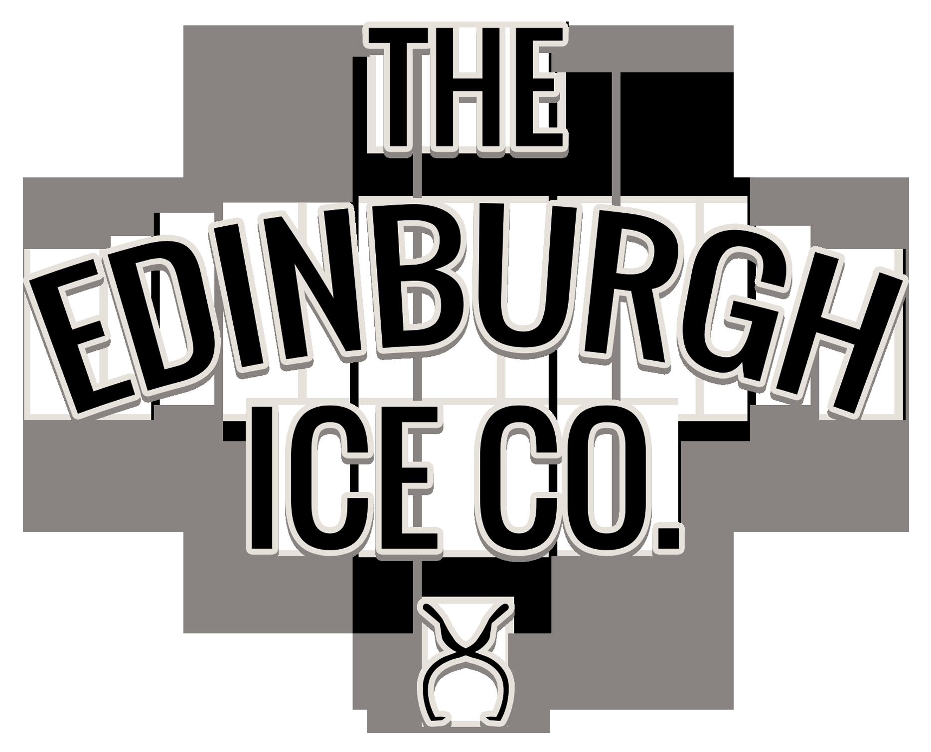 The Edinburgh Ice Co. logo designed by Dephined