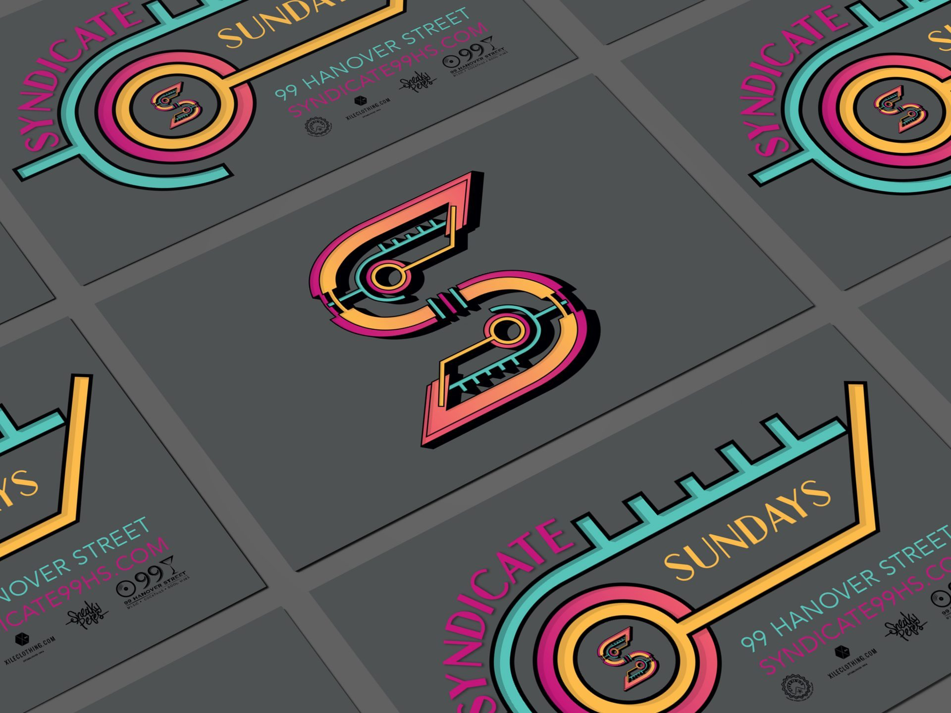 Syndicate membership cards designed by Dephined